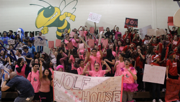 Wolf House cheered their hardest, despite coming in last place.