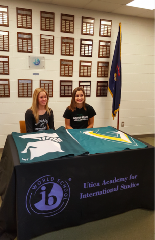 UAIS Students Sign as College Athletes