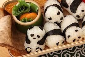 Onigiri can be cute and creative!