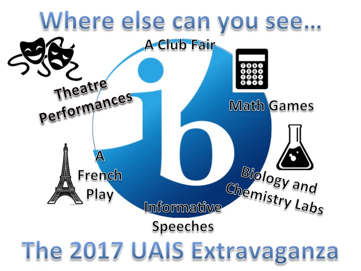 Welcome to the Academy: UAIS Extravaganza 2017
