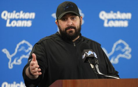 Coach Matt Patricia of the Detroit Lions